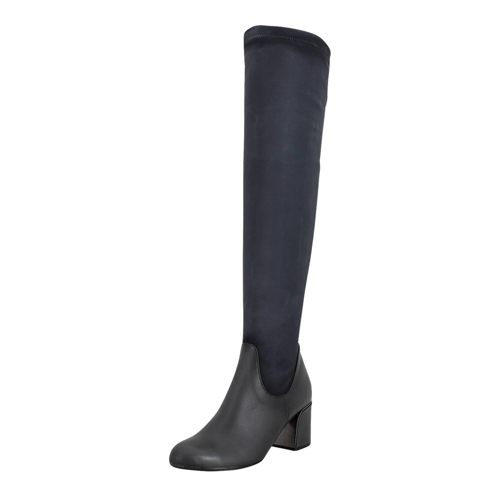 Battigny - Esthissis Women s boots made of leather and lycra ... 9c0c4e45bac