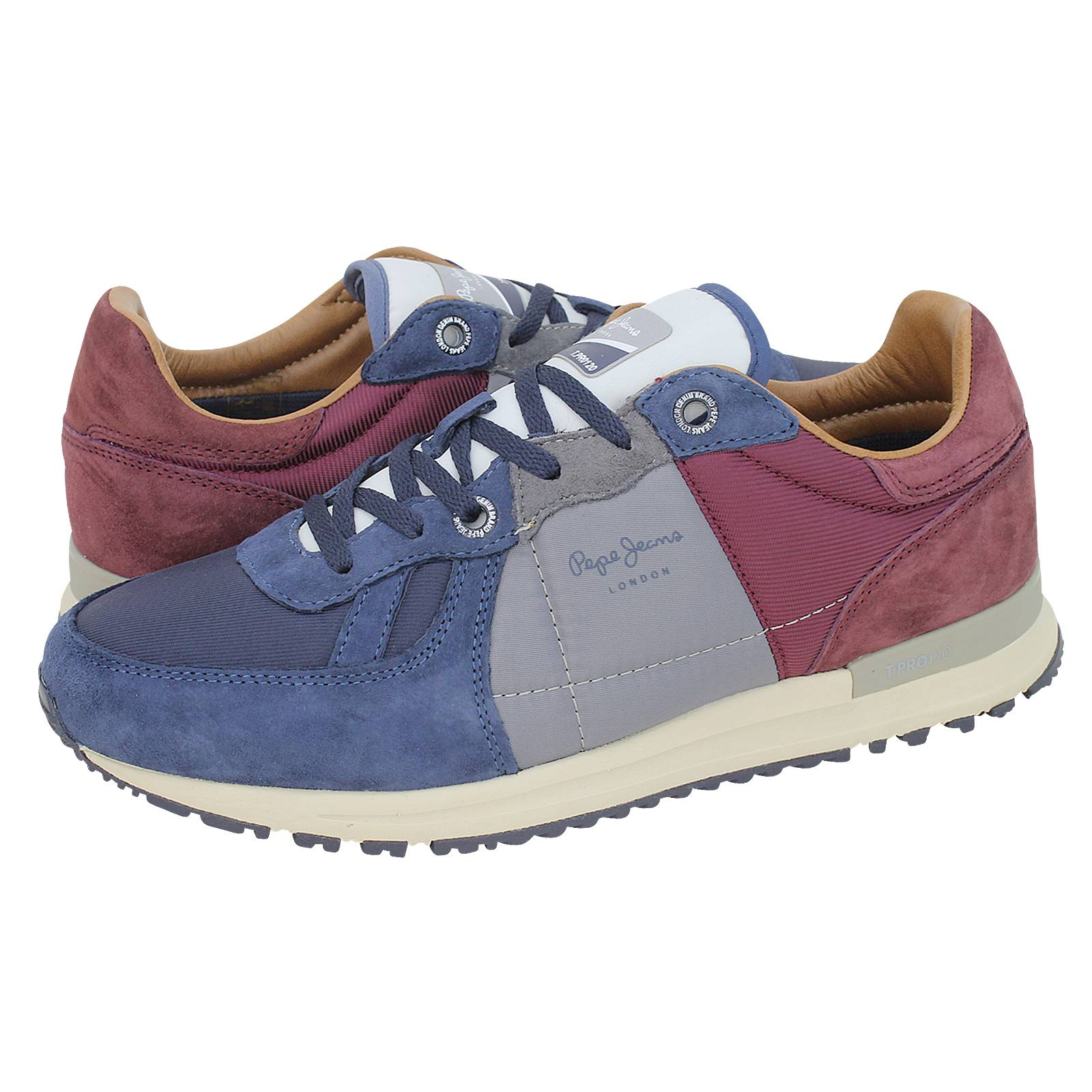 341a7f81cde Tinker Pro Camp - Pepe Jeans Men s casual shoes made of suede and ...