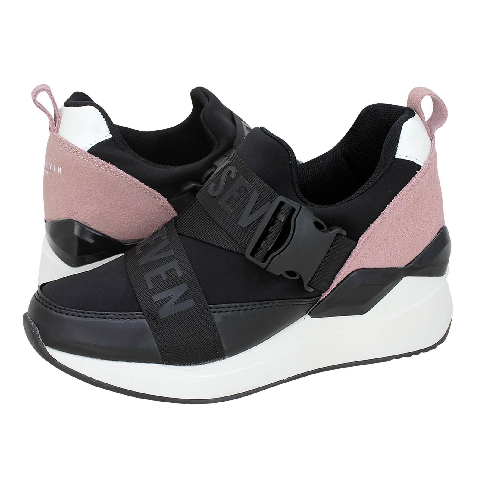 a9e4ec1e2f Carbonne - Sixty Seven Women's casual shoes made of fabric, suede ...