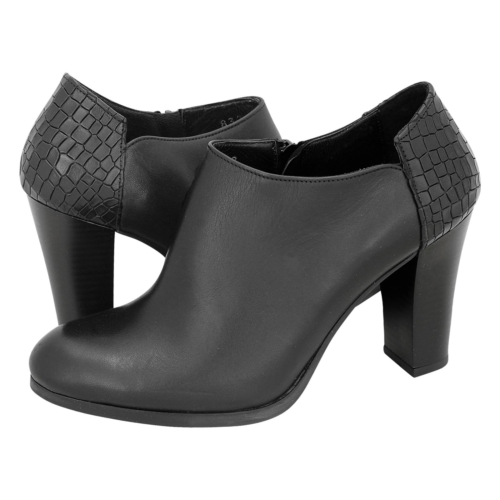 Turondale - Esthissis Women s low boots made of leather and snake ... ec68f307835