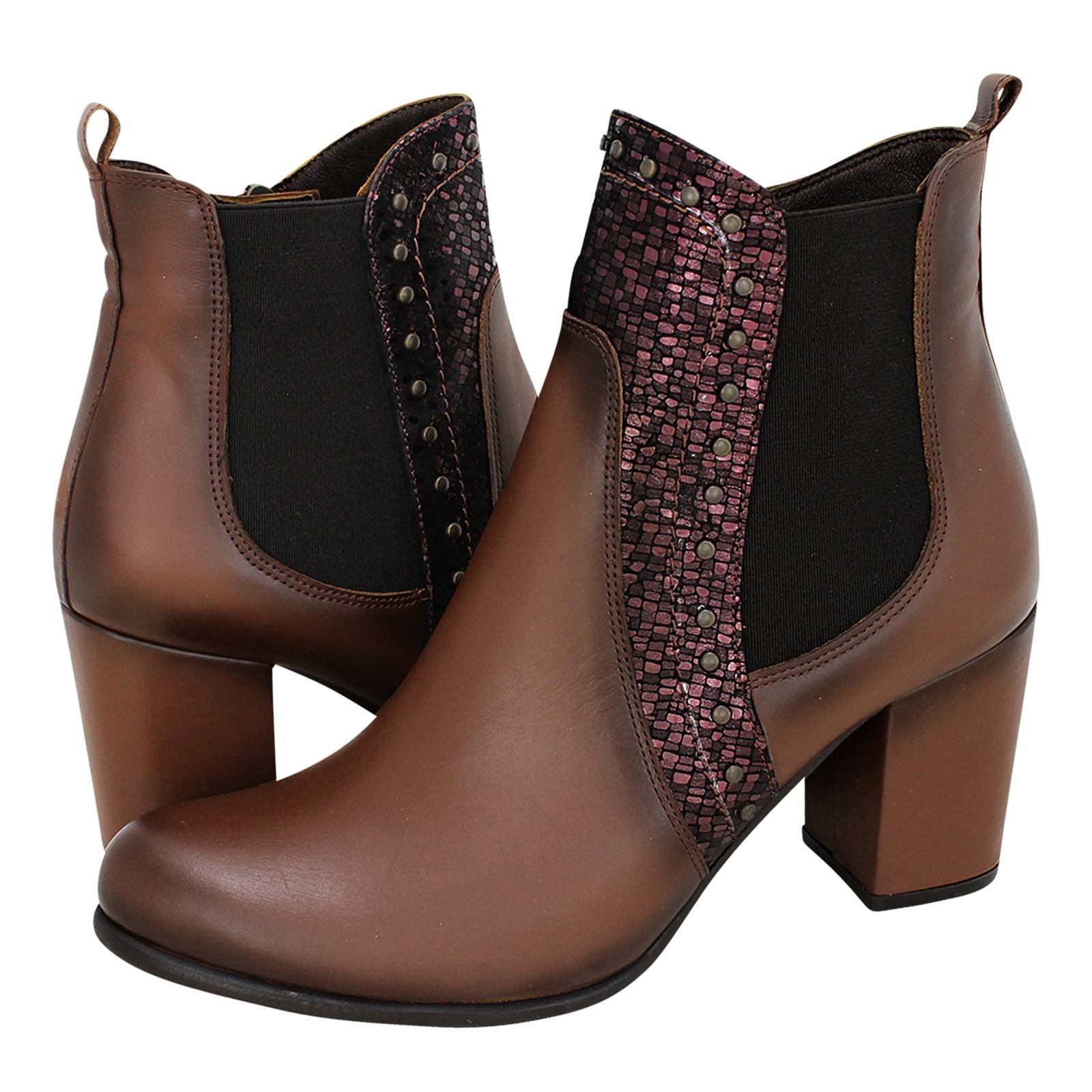 Tunali - Esthissis Women s low boots made of leather 36b8c36047f