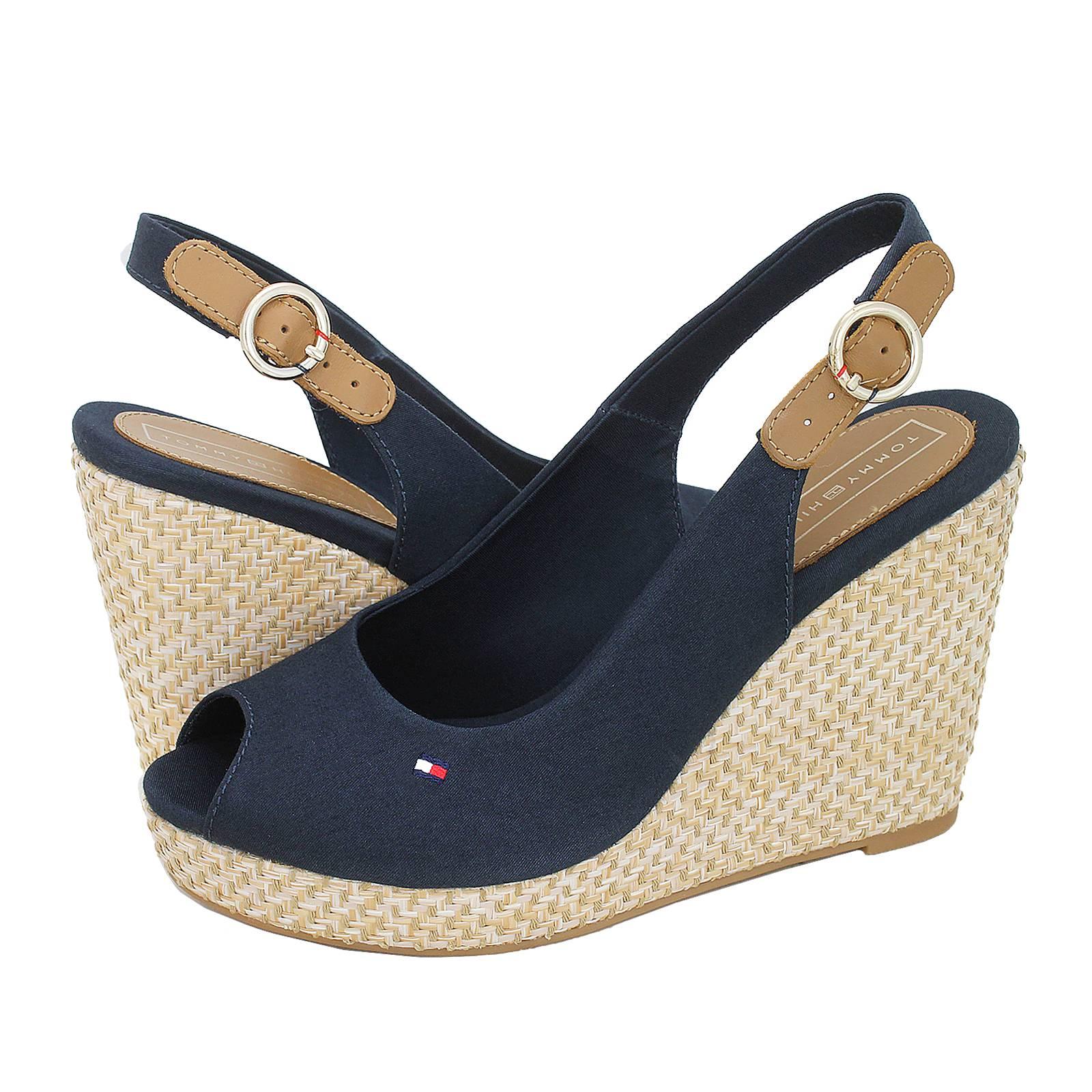 843f0922c16 Iconic Elena Basic Sling Back - Tommy Hilfiger Women s platforms ...