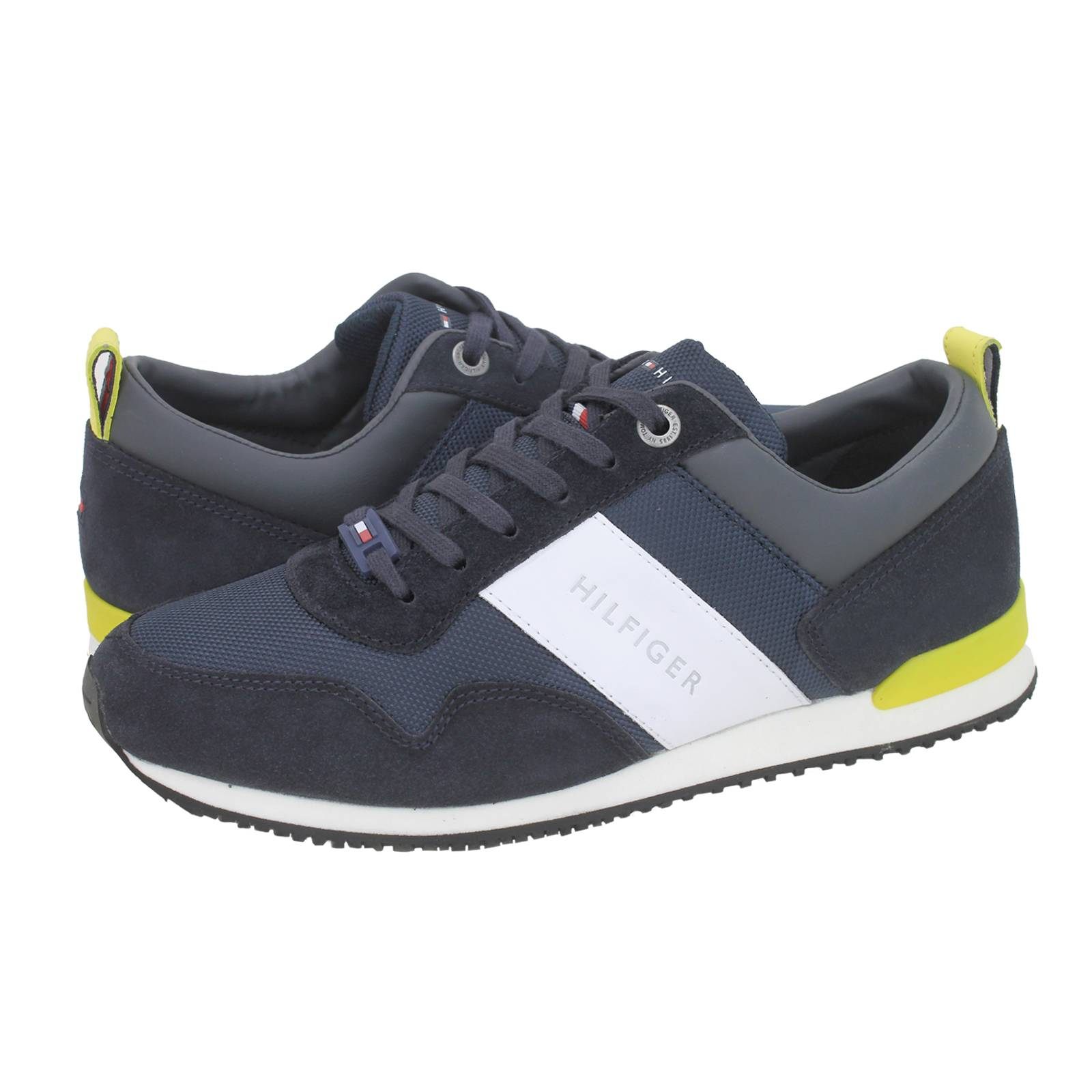 13c056067fdc Tommy Hilfiger Iconic Material Mix Runner casual shoes. Iconic Material Mix  Runner