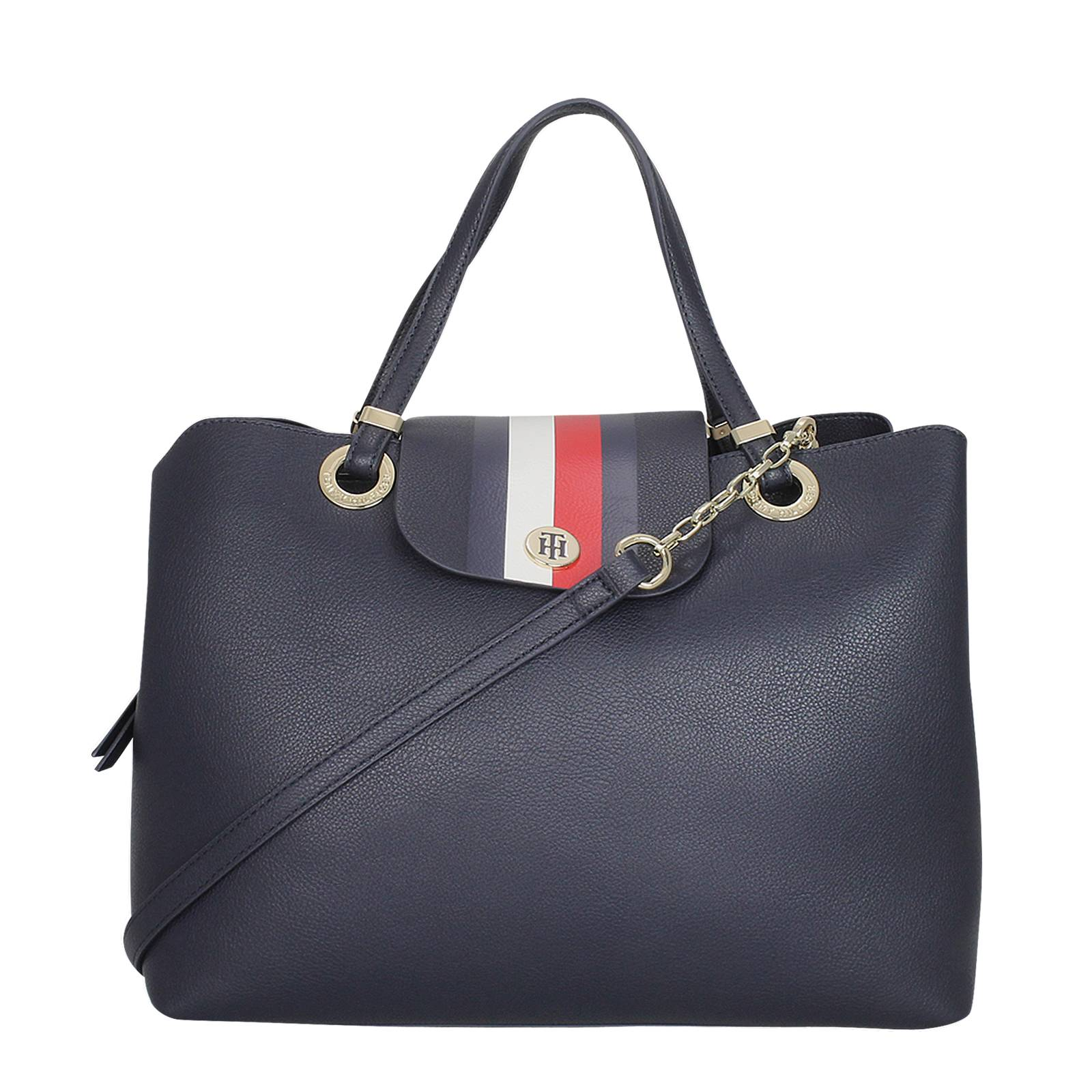 c21897872b748 My Tommy Satchel - Tommy Hilfiger Women s Handbag made of synthetic ...