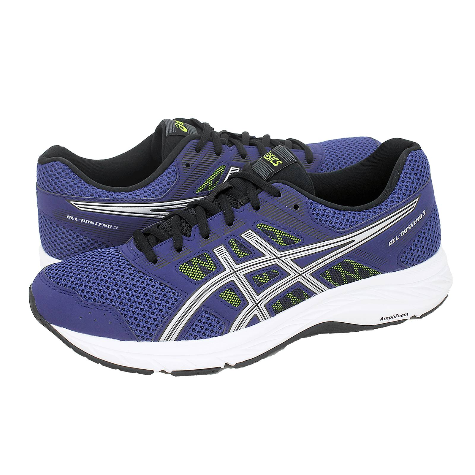 Shoes Fabric Made Gel Men's Asics And 5 Athletic Contend Of I6vfgYbym7