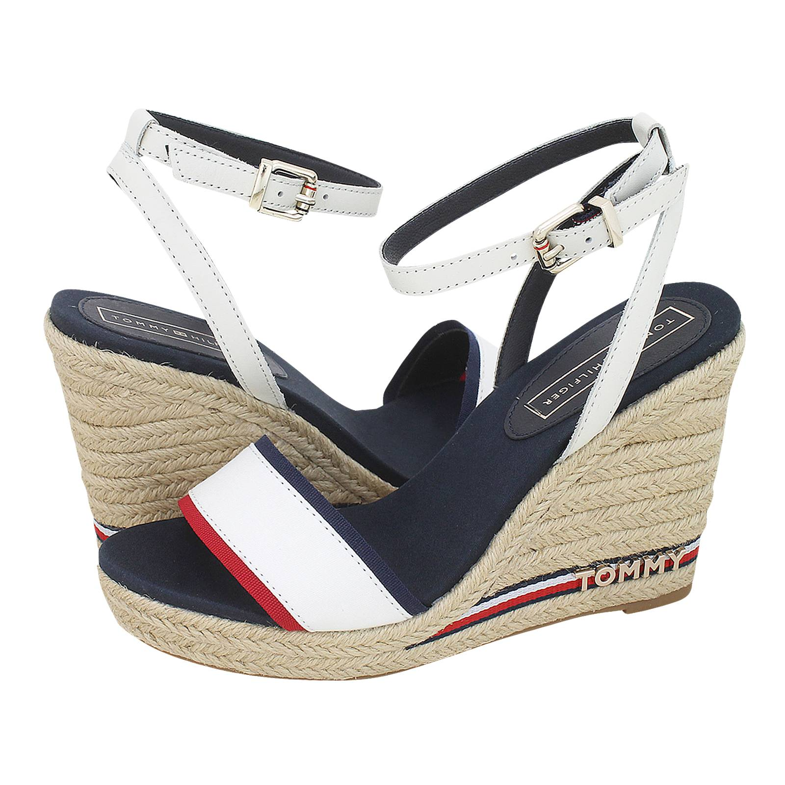 3fc38d586 Tommy Hilfiger Iconic Elena Corporate Ribbon platforms. Iconic Elena Corporate  Ribbon