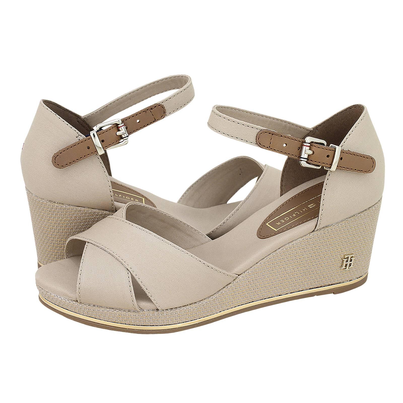 14897ee217 Feminine Mid Wedge Sandal Basic - Tommy Hilfiger Women's platforms ...