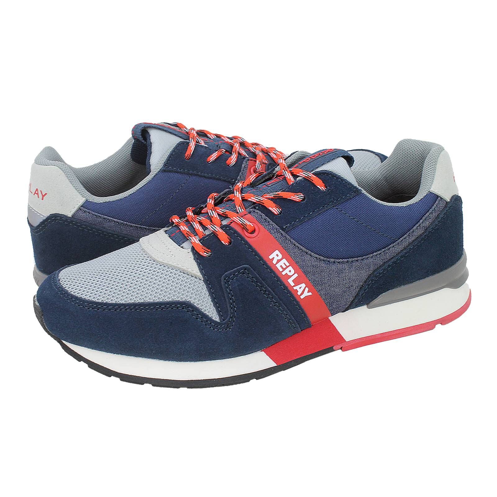 f1eaca26 Replay Target casual shoes