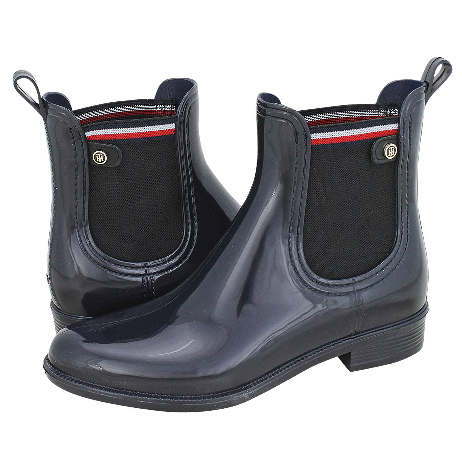 great deals the latest best online Color Block Rainboot - Tommy Hilfiger Women's galoshes made of ...