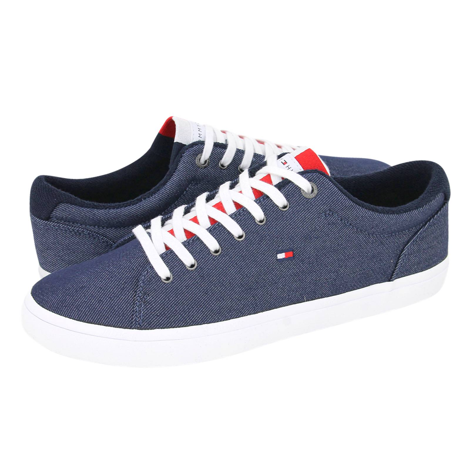 tommy hilfiger essential long lace sneaker