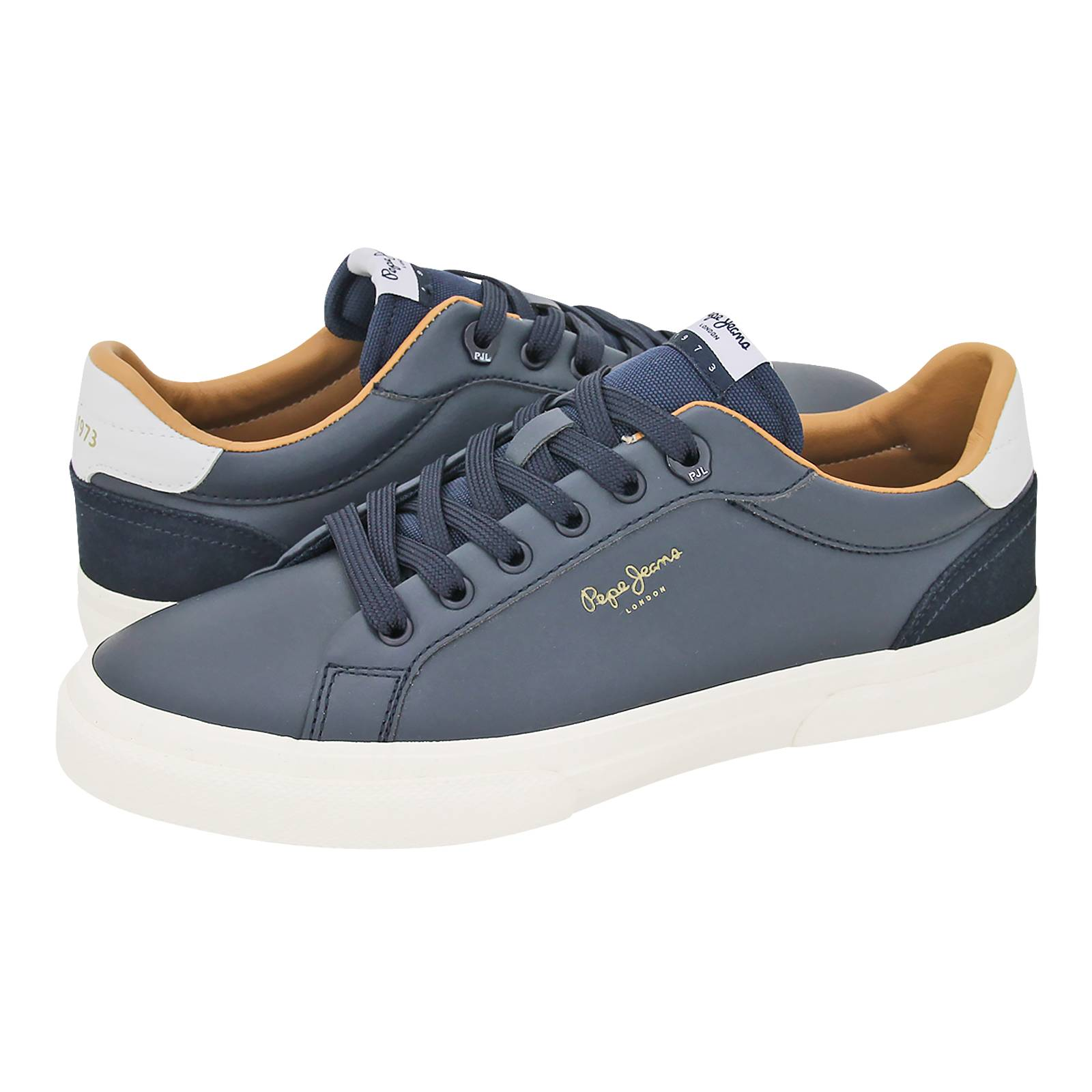 Kenton Classic Man Pepe Jeans Men S Casual Shoes Made Of Synthetic Leather And Suede Gianna Kazakou Online