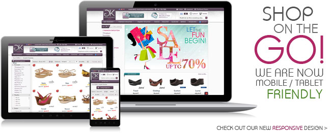 Shop on the go! We are now mobile friendly!